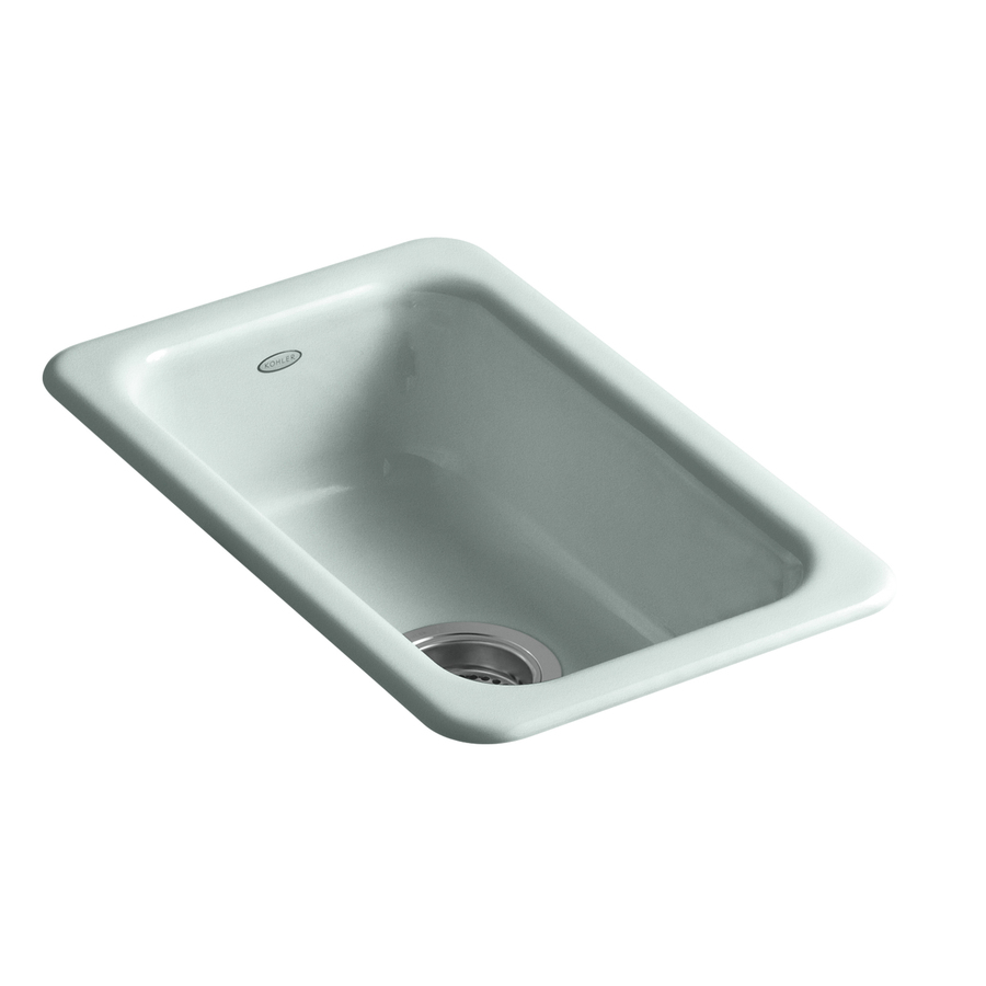 shop kohler iron occasions single basin drop in or
