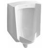 KOHLER 18-in W x 26.875-in H White Wall-Mounted WaterSense Urinal