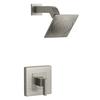 KOHLER Loure Vibrant Brushed Nickel 1-Handle Shower Faucet Trim Kit with Single Function Showerhead