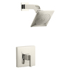 KOHLER Loure Vibrant Polished Nickel 1-Handle Shower Faucet Trim Kit with Single Function Showerhead