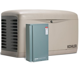 KOHLER 14000-Watt (LP)/12000-Watt (NG) Standby Generator with Automatic Transfer Switch