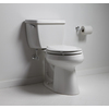 KOHLER Highline Classic Biscuit 1.28 GPF (4.85 LPF) 12-in Rough-in WaterSense Elongated 2-Piece Comfort Height Toilet