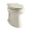 KOHLER Highline Chair Height Almond 10 Rough-In Elongated Toilet Bowl