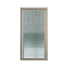 Sterling 31-1/4-in Polished Nickel Framed Pivot Shower Door