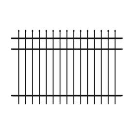 Ironcraft Powder-Coated Aluminum Decorative Metal Fence Panel