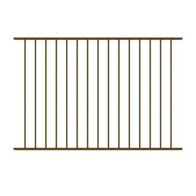Shop Ironcraft Bronze Powder Coated Aluminum Decorative