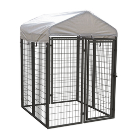 Pet Sentinel 4-ft x 4-ft x 6-ft Outdoor Dog Kennel Box Kit