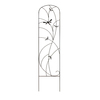  12.75-in W x 56-in H Powder-Coated Dragonfly Garden Trellis