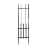 17.1-in W x 64.2-in H Powder-Coated Empire Garden Trellis