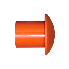 Blue Hawk 2-3/8-in Safety Orange Plastic Rebar Safety Cap 832029