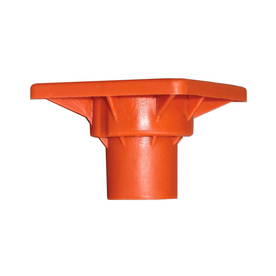 Blue Hawk 4-in Safety Orange Plastic Rebar Safety Cap 832036