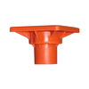Blue Hawk 4-in Safety Orange Plastic Rebar Safety Cap