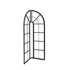 25.8-in W x 53.9-in H Powder-Coated Rounded Corner Garden Trellis