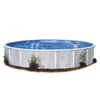 Embassy PoolCo Sierra Pines 24-ft x 15-ft x 52-in Oval Above-Ground Pool