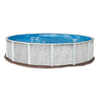 Embassy PoolCo Lakeshore 15-ft x 15-ft x 52-in Round Above-Ground Pool