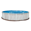 Embassy PoolCo Lakeshore 18-ft x 18-ft x 52-in Round Above-Ground Pool