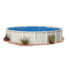 Embassy PoolCo Meadow Breeze 30-ft x 30-ft x 52-in Round Above-Ground Pool