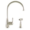 Mico Designs Chester 1-Handle High-Arc Kitchen Faucet with Side Spray