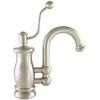 Mico Designs Seashore Satin Nickel 1-Handle Bar and Prep Faucet