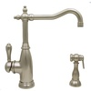 Mico Designs Simone 1-Handle High-Arc Kitchen Faucet with Side Spray