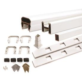 Trex 67.5-in Classic White Composite Deck Railing Kit