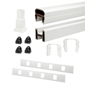 Trex 72-in White Composite Deck Railing Kit