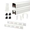 Trex 96-in White Composite Deck Railing Kit