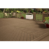Trex Accents Saddle Composite Decking (Common: 1-in x 6-in x 12-ft; Actual: 1-in x 5.5-in x 12-ft)