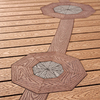 Trex Accents Saddle Composite Decking (Common: 1-in x 6-in x 16-ft; Actual: 1-in x 5.5-in x 16-ft)