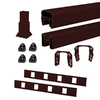 Trex 72-in Vintage Lantern Composite Deck Railing Kit