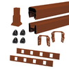 Trex 72-in Fire Pit Composite Deck Railing Kit