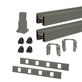 Trex 96-in Gravel Path Composite Deck Railing Kit