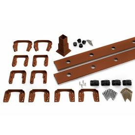 Trex Transcend 4-Pack Fire Pit Composite Deck Railing Kit (Assembled: 5.625-ft x 3-ft)