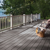 Trex Select Pebble Grey Ultra-Low Maintenance Composite Decking (Common: 1-in x 5.5-in x 12-ft; Actual: 0.875-in x 5.5-in x 12-ft)