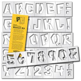 PlayStar Plastic Stencil Kit