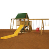 PlayStar Legend Gold Wood Playset with Swings