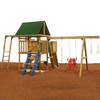 PlayStar Legend Silver Wood Playset with Swings