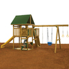 PlayStar Legend Bronze Expandable Commercial/Residential Wood Playset