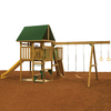 PlayStar Legend Qualifier Expandable Residential Wood Playset