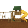 PlayStar Great Escape Silver Expandable Residential Wood Playset with Swings