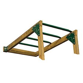 PlayStar Climbing Bar Kit Green Monkey Bars