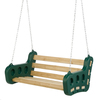 PlayStar Contoured Leisure Swing Green Swing