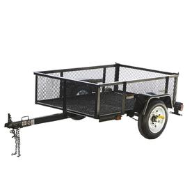 Carry-On Trailer 3-1/2-ft x 5-ft Wire Mesh Utility Trailer 3.5X5LSHS
