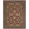 Wakefield 24-in x 36-in Rectangular Red Border Accent Rug