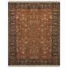 Alegra 8-ft x 11-ft Rectangular Red Floral Area Rug