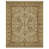  Alegra 8-ft x 11-ft Rectangular Beige Floral Area Rug