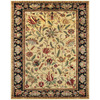 Rubina 8-ft x 11-ft Rectangular Yellow Floral Area Rug