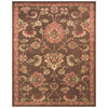 Valencia 26-in x 48-in Rectangular Tan Border Accent Rug