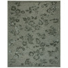 Ming 8-ft x 11-ft Rectangular Gray Solid Area Rug