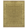 Alegra 8-ft x 11-ft Rectangular Yellow Floral Area Rug